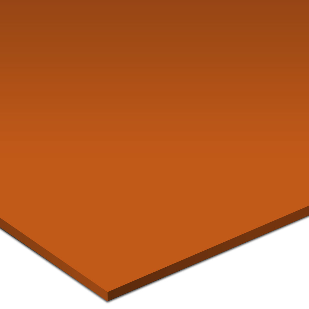 Johnsonite Solid Colors Smooth Surface 24 x 24 Tangerine Tango