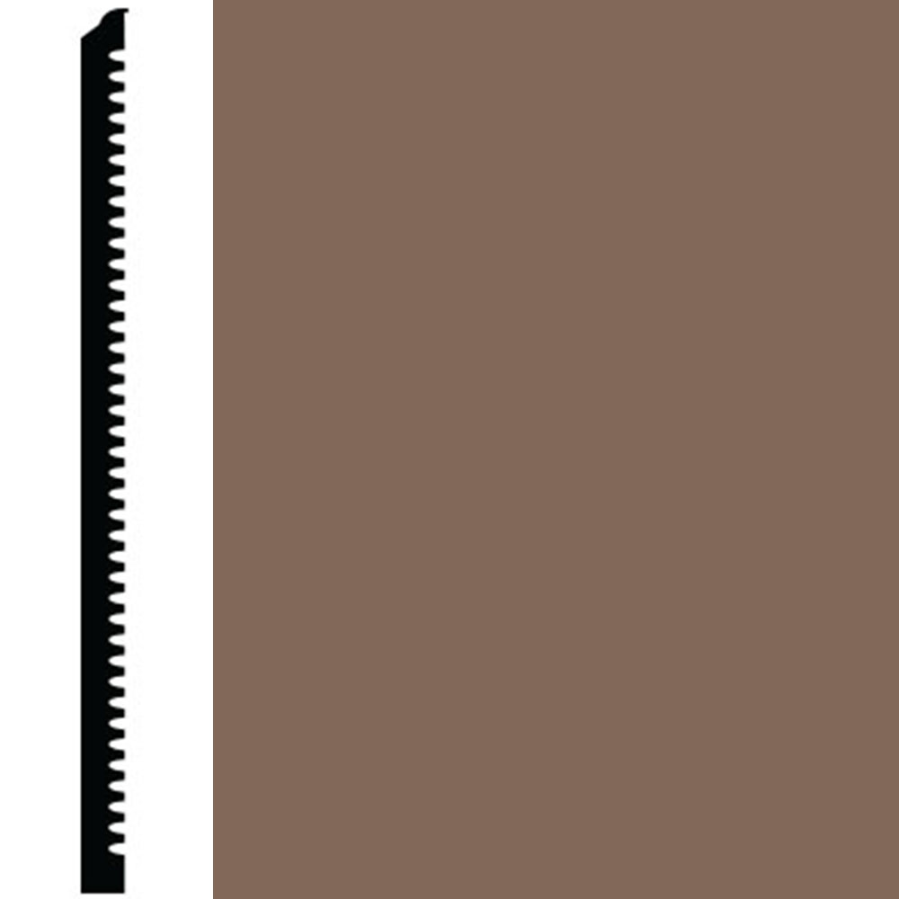 Roppe Contours Wall Base 85 Fashion 6.25 Toffee