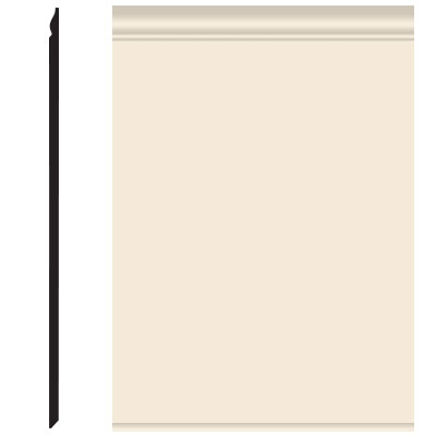 Roppe Pinnacle Plus Wall Base 25 Classic Bisque 131