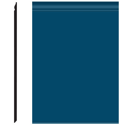 Roppe Pinnacle Plus Wall Base 25 Classic Blue 187