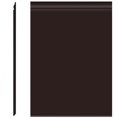 Roppe Pinnacle Plus Wall Base 25 Classic Brown 110