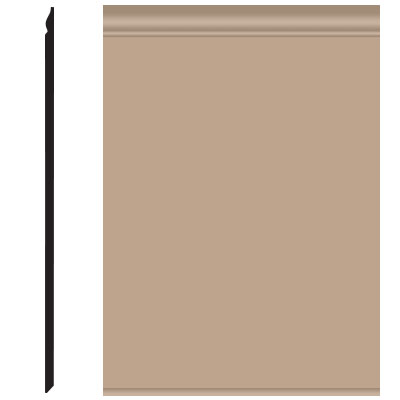 Roppe Pinnacle Plus Wall Base 25 Classic Camel 191