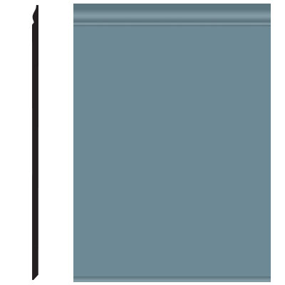Roppe Pinnacle Plus Wall Base 25 Classic Colonial Blue 165
