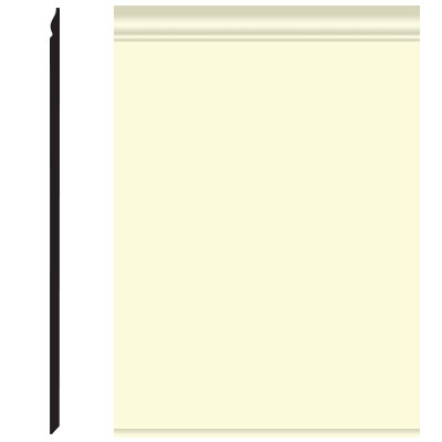 Roppe Pinnacle Plus Wall Base 25 Classic Cream 615