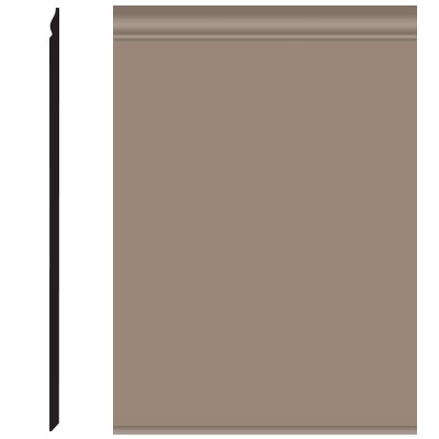 Roppe Pinnacle Plus Wall Base 25 Classic Fawn 140