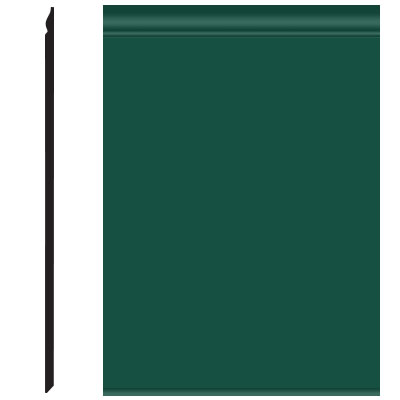 Roppe Pinnacle Plus Wall Base 25 Classic Forest Green 160