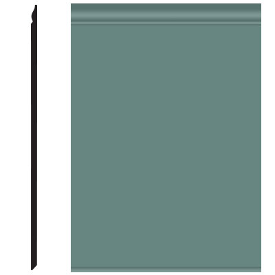 Roppe Pinnacle Plus Wall Base 25 Classic Hunter Green 169