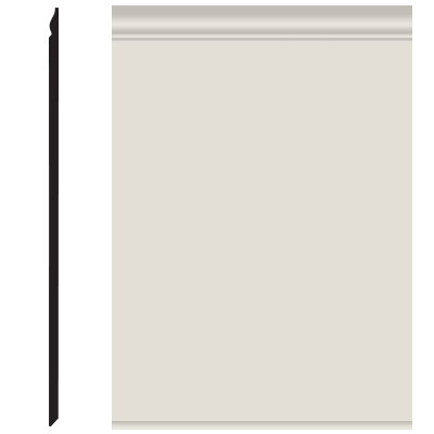 Roppe Pinnacle Plus Wall Base 25 Classic Natural 122