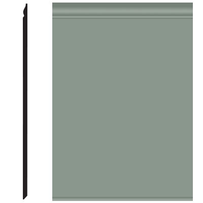 Roppe Pinnacle Plus Wall Base 25 Classic Pistachio 113