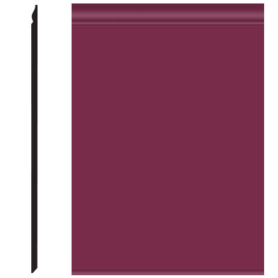 Roppe Pinnacle Plus Wall Base 25 Classic Plum 620