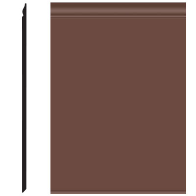 Roppe Pinnacle Plus Wall Base 25 Classic Russet 181