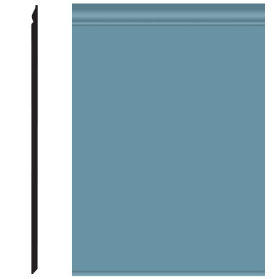 Roppe Pinnacle Plus Wall Base 25 Classic Salem Blue 154