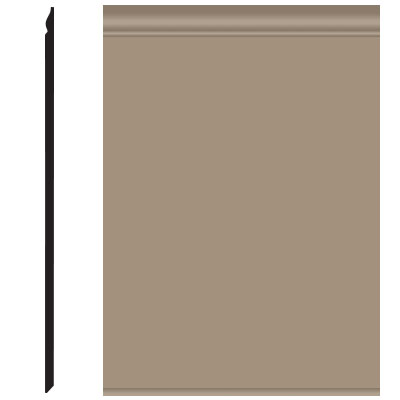 Roppe Pinnacle Plus Wall Base 25 Classic Sandstone 171