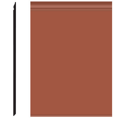 Roppe Pinnacle Plus Wall Base 25 Classic Terracotta 617