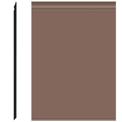 Roppe Pinnacle Plus Wall Base 25 Classic Toffee 182