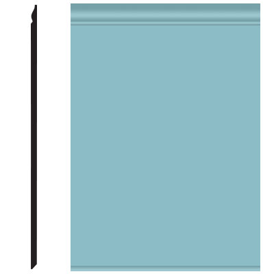 Roppe Pinnacle Plus Wall Base 25 Classic Turquoise 146