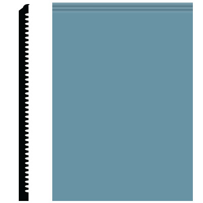 Roppe Pinnacle Plus Wall Base 65 Vertical Salem Blue 154