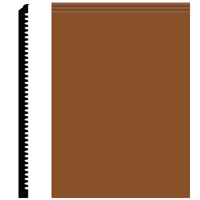 Roppe Pinnacle Plus Wall Base 65 Vertical Tan 120