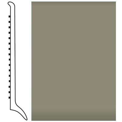 Roppe Pinnacle Rubber Wall Base 4 (Long Toe Base) Dolphin 129