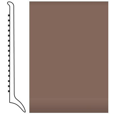 Roppe Pinnacle Rubber Wall Base 4 (Long Toe Base) Toffee 182