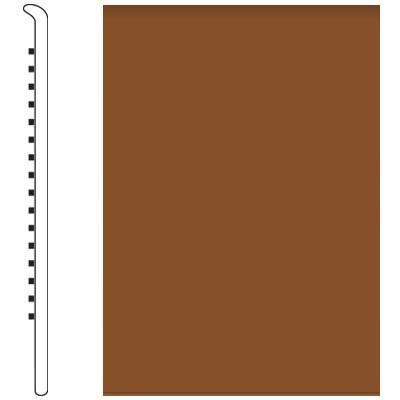 Roppe Pinnacle Rubber Wall Base 5 No Toe Base Tan 120