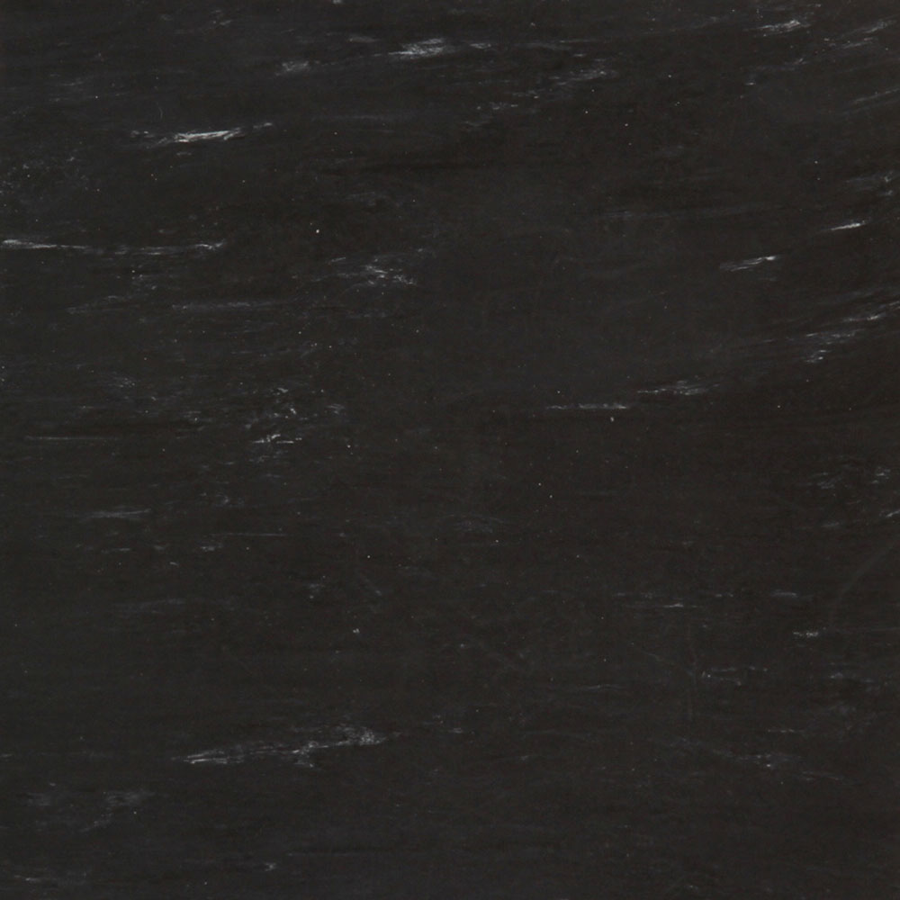 Roppe Smooth & Marbleized Rubber Tile 12 x 12 4.76mm (976 Smooth Design) Black