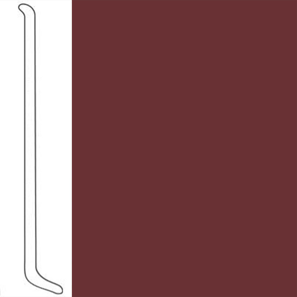 VPI Corp. Wallbase Coved 1/8 2.5-inch Alsatian Berry