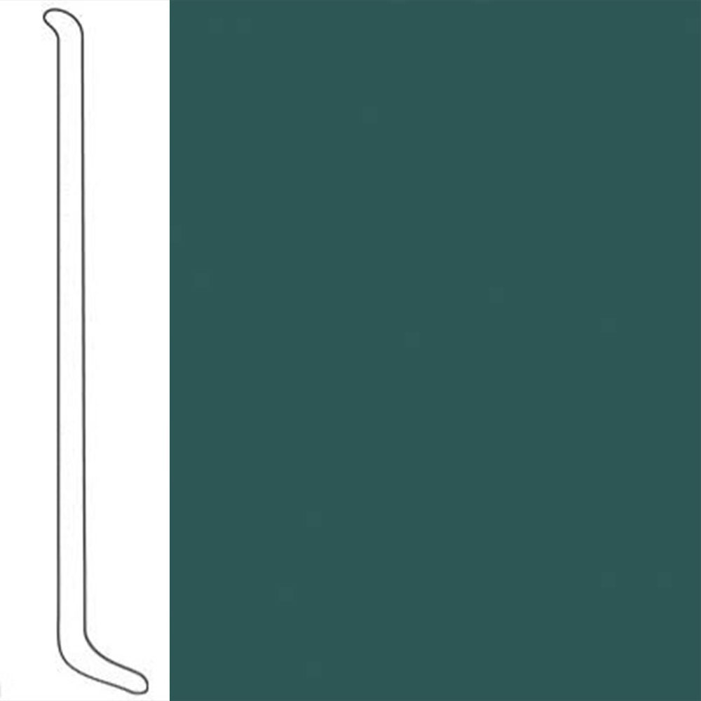 VPI Corp. Wallbase Coved 1/8 2.5-inch Cypress