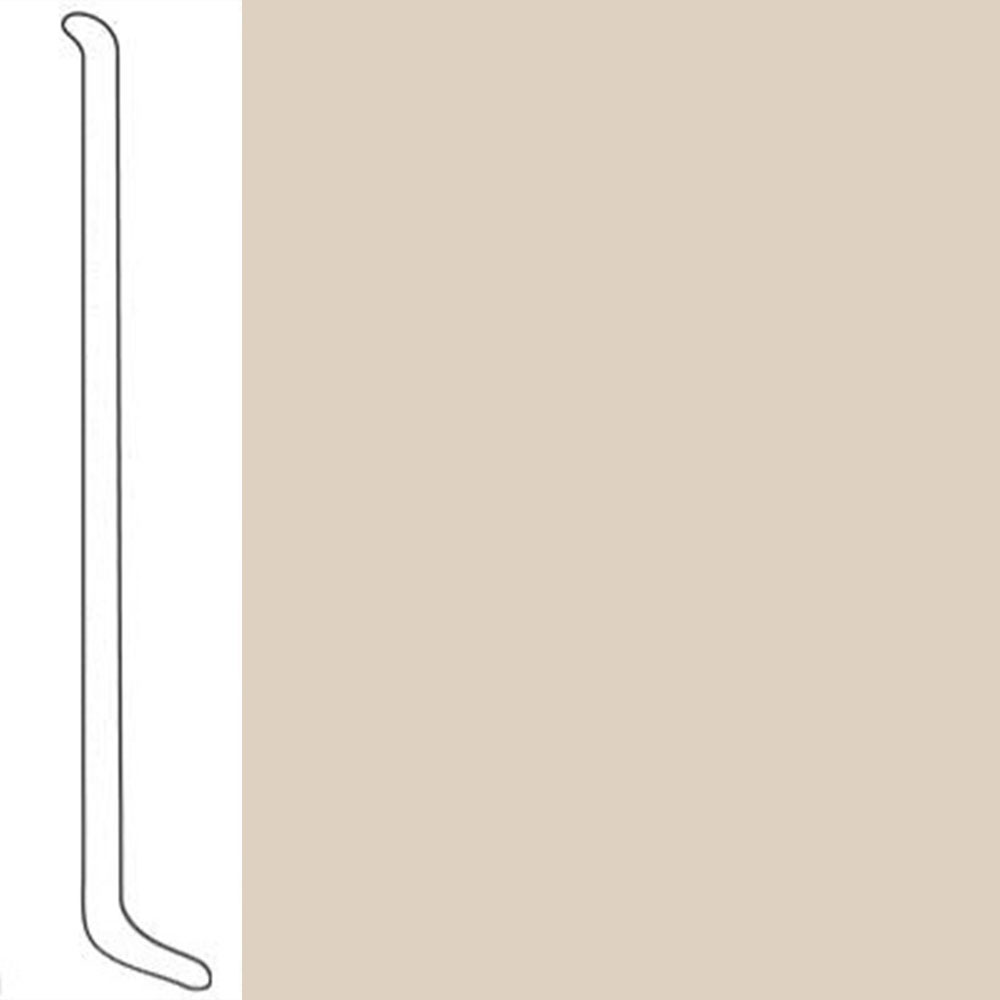 VPI Corp. Wallbase Coved 1/8 2.5-inch Fawn