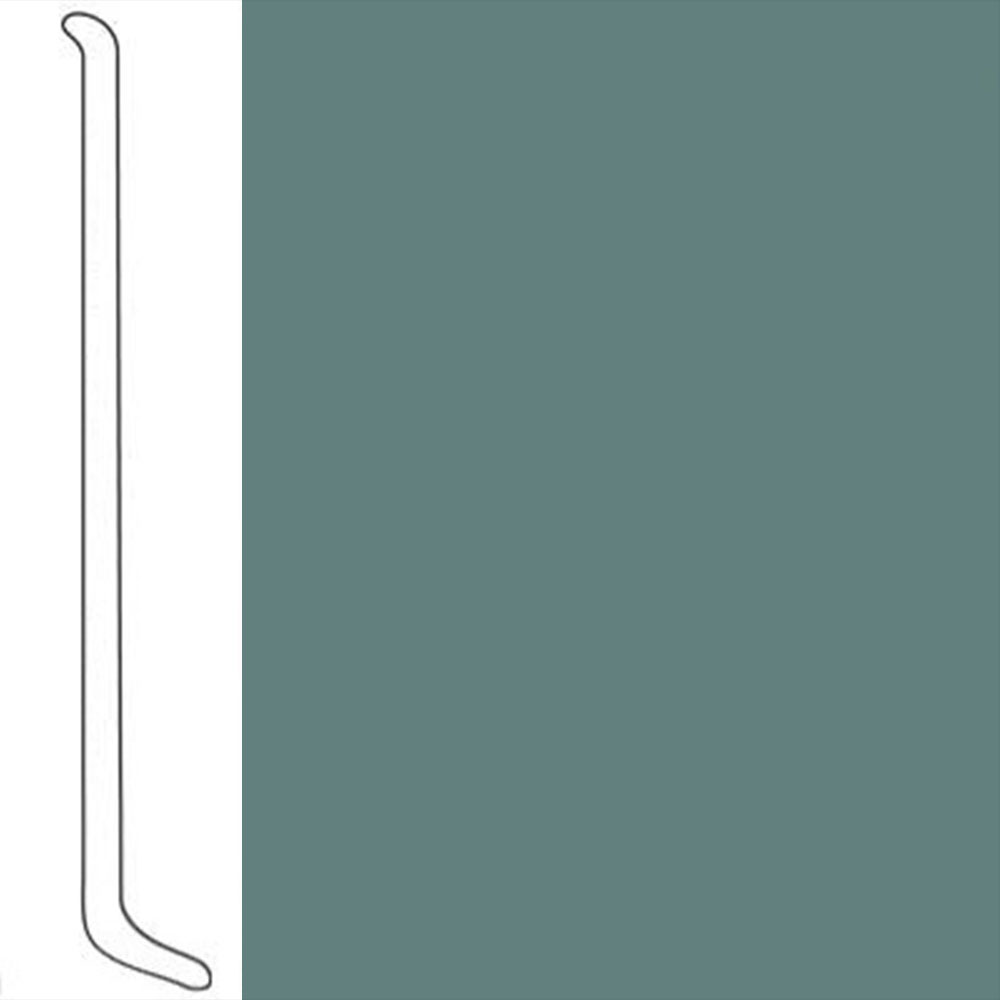 VPI Corp. Wallbase Coved 1/8 2.5-inch Ivy