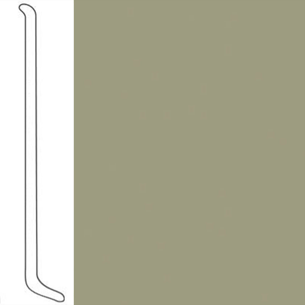 VPI Corp. Wallbase Coved 1/8 2.5-inch Light Olive