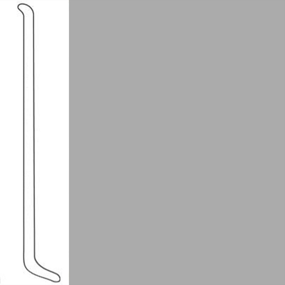 VPI Corp. Wallbase Coved 1/8 2.5-inch London Gray