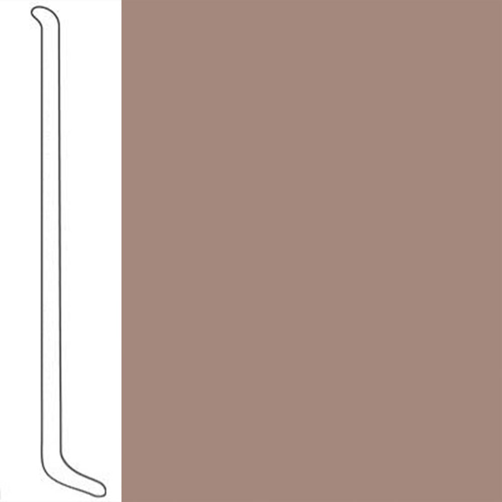 VPI Corp. Wallbase Coved 1/8 2.5-inch Manhatten Taupe