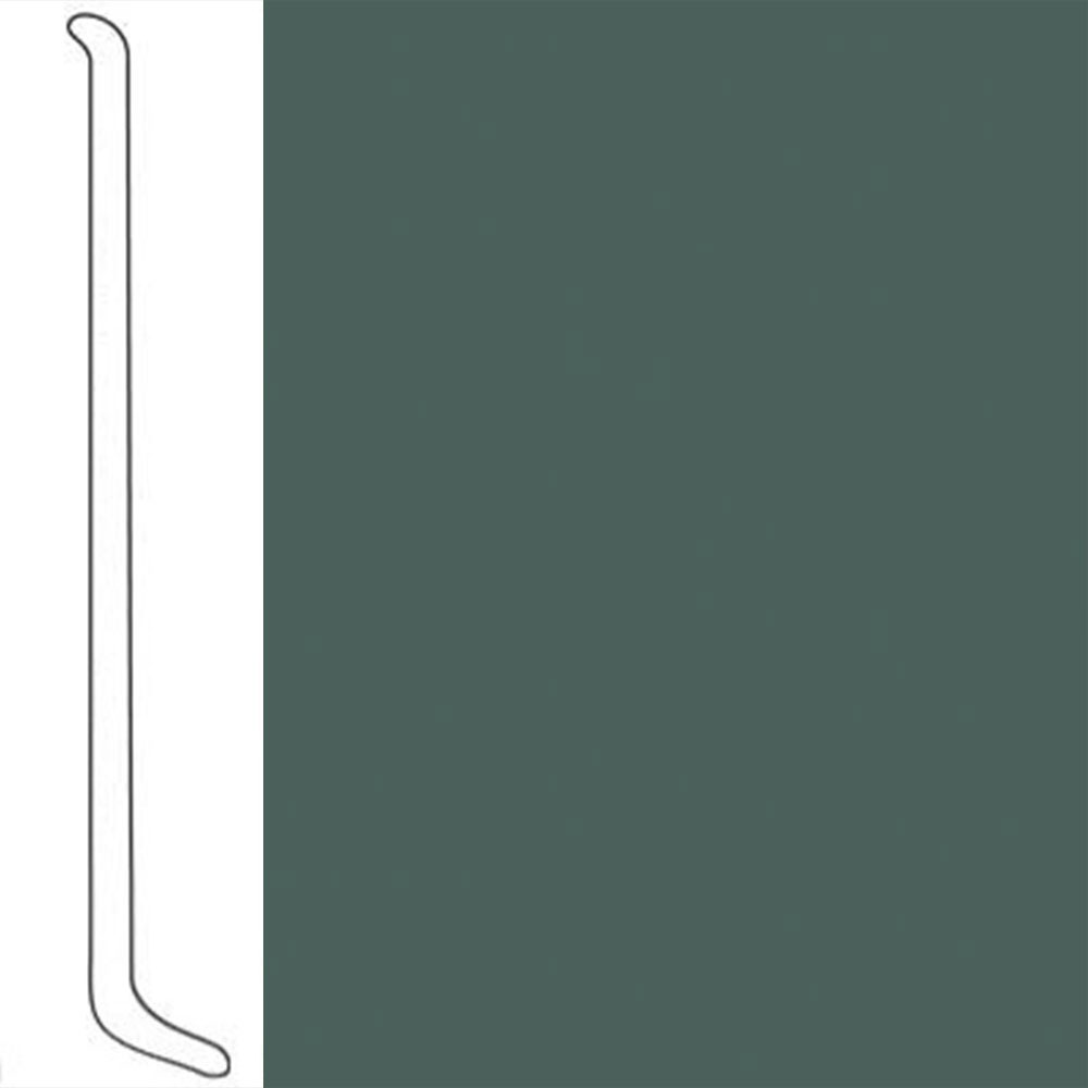 VPI Corp. Wallbase Coved 1/8 2.5-inch Mariner Green