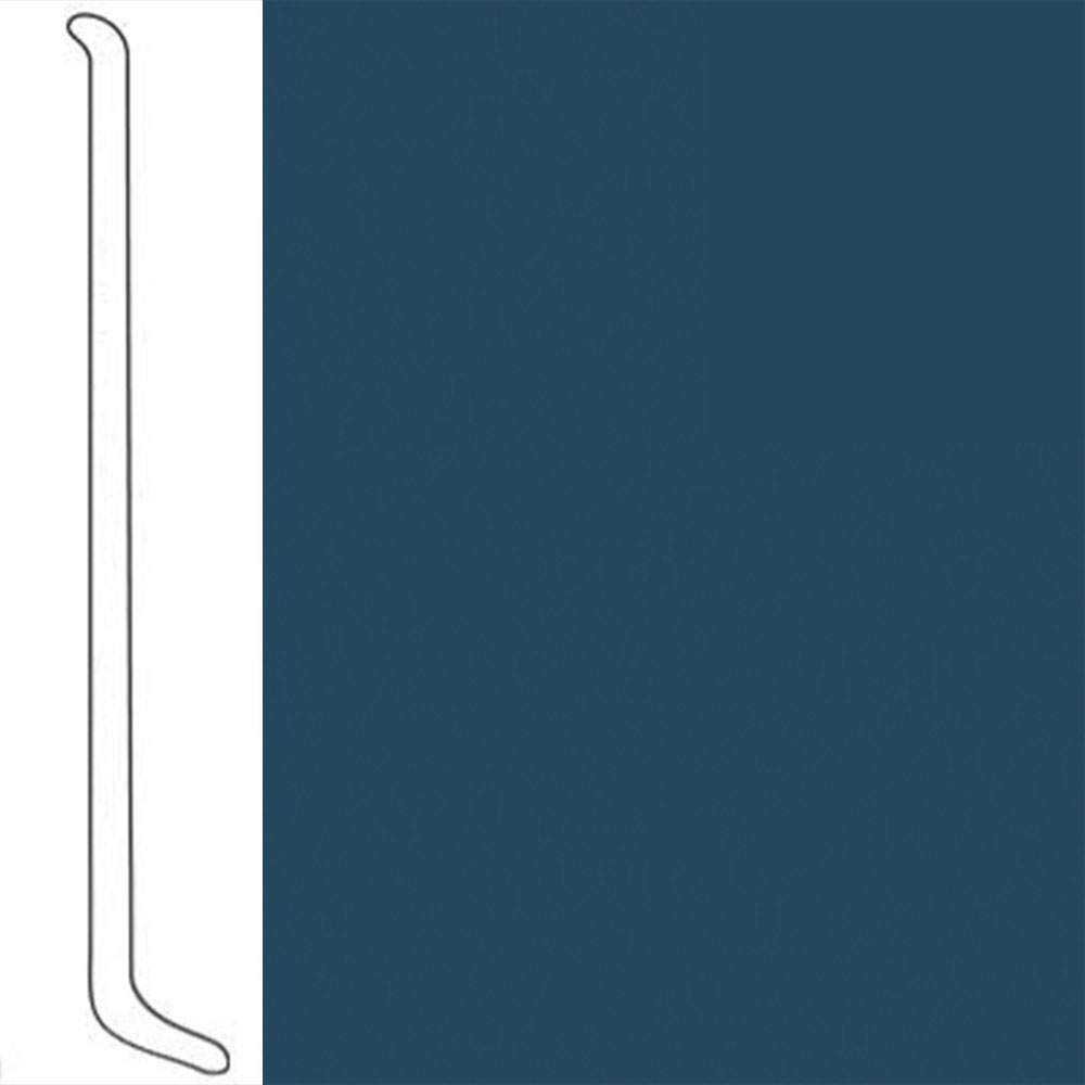VPI Corp. Wallbase Coved 1/8 2.5-inch Moroccan Blue