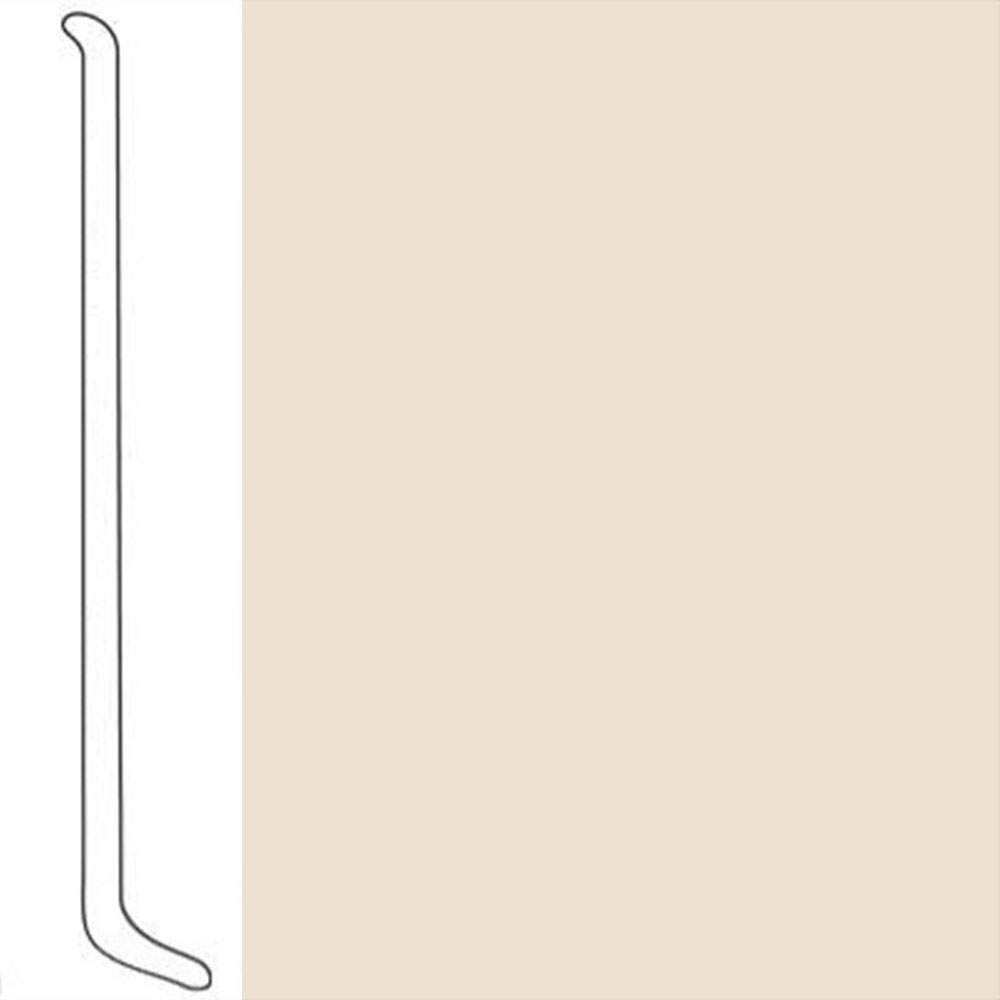 VPI Corp. Wallbase Coved 1/8 2.5-inch Papyrus