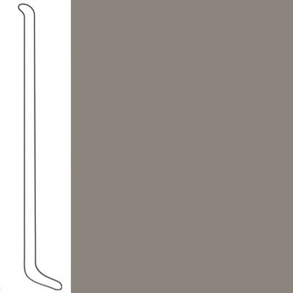 VPI Corp. Wallbase Coved 1/8 2.5-inch Pewter
