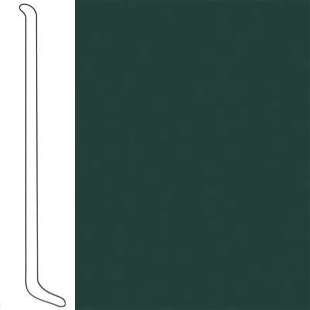 VPI Corp. Wallbase Coved 1/8 2.5-inch Rain Forest