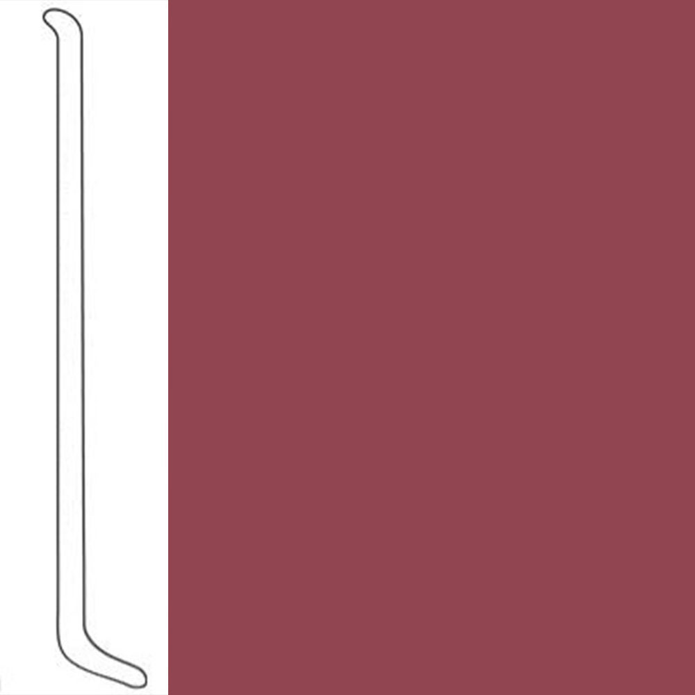 VPI Corp. Wallbase Coved 1/8 2.5-inch Red Coat