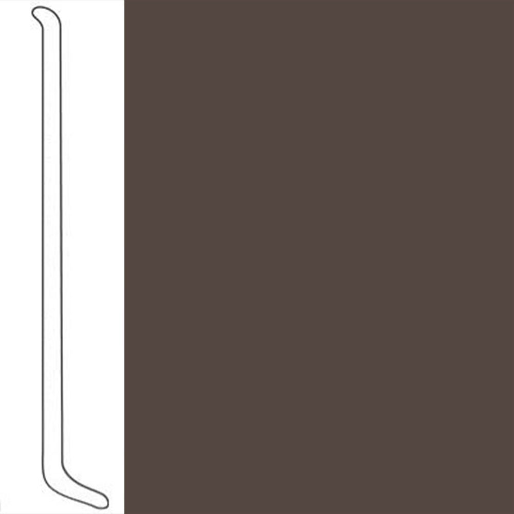 VPI Corp. Wallbase Coved 1/8 2.5-inch Roasted Chestnut