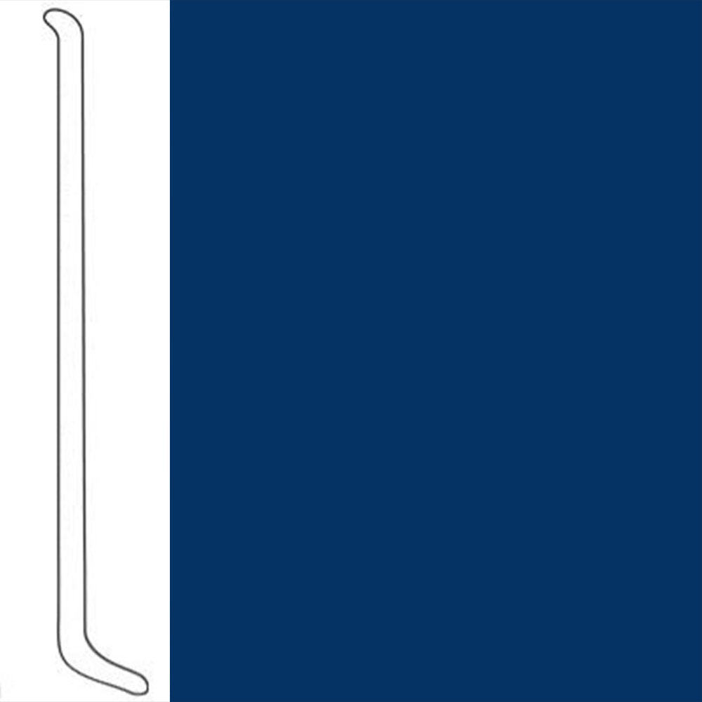 VPI Corp. Wallbase Coved 1/8 2.5-inch Royal Blue