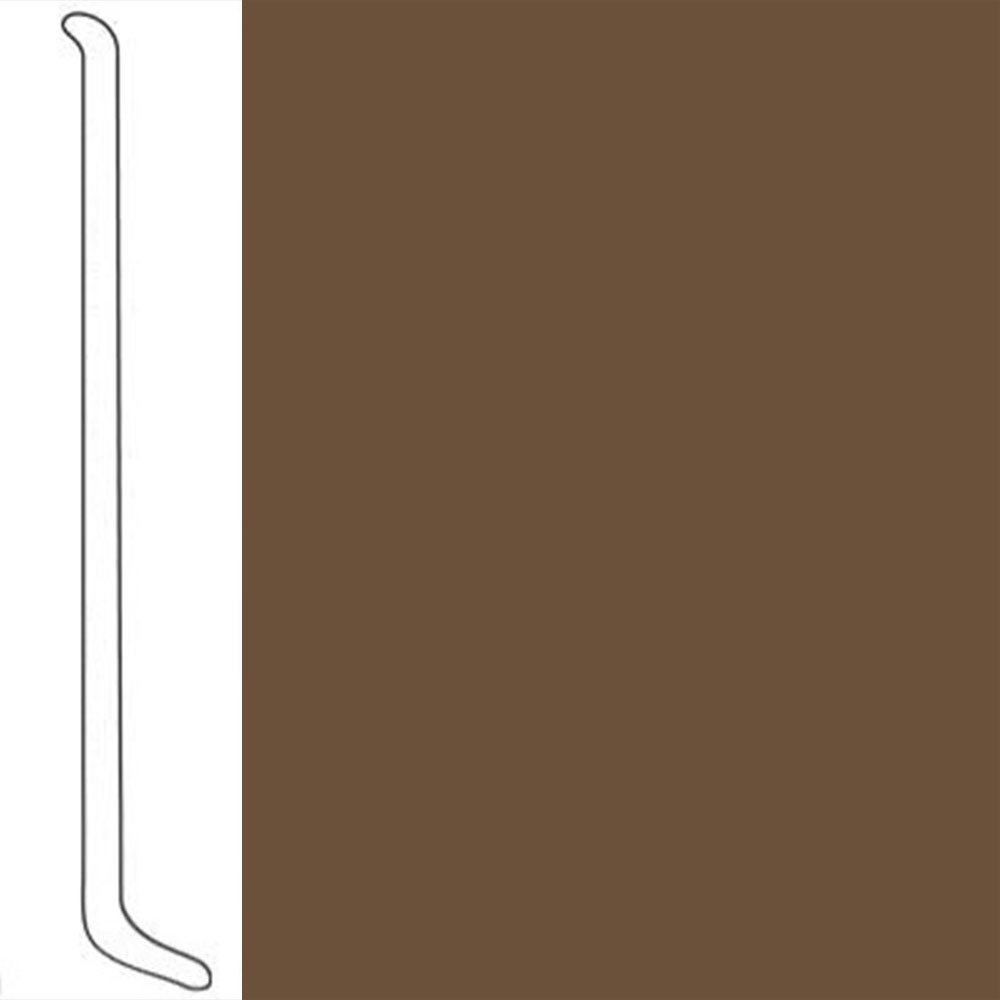 VPI Corp. Wallbase Coved 1/8 2.5-inch Spice
