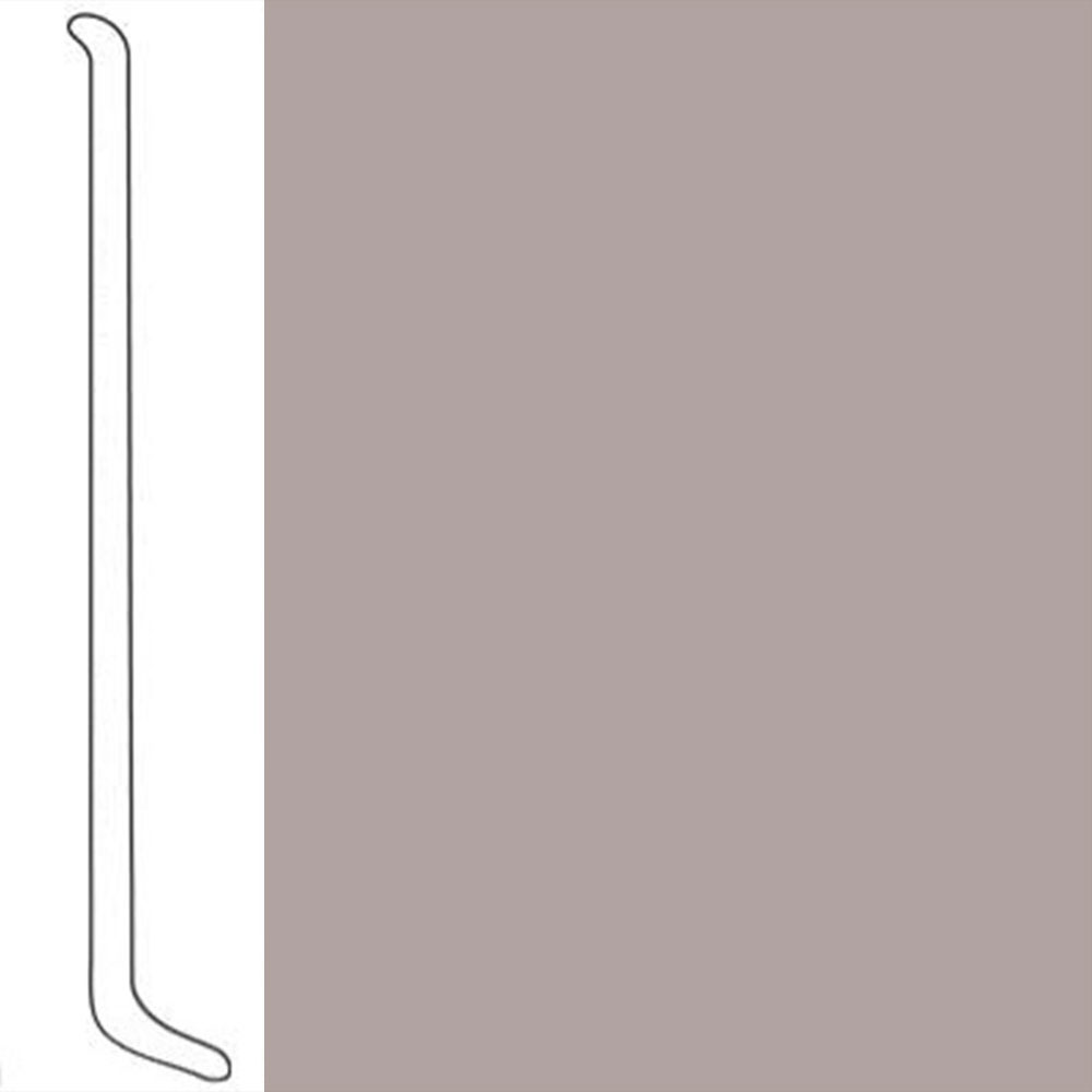 VPI Corp. Wallbase Coved 1/8 2.5-inch Taupe Mist