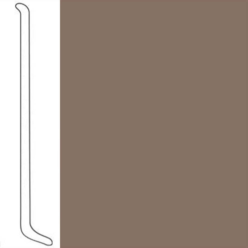 VPI Corp. Wallbase Coved 1/8 2.5-inch Toast