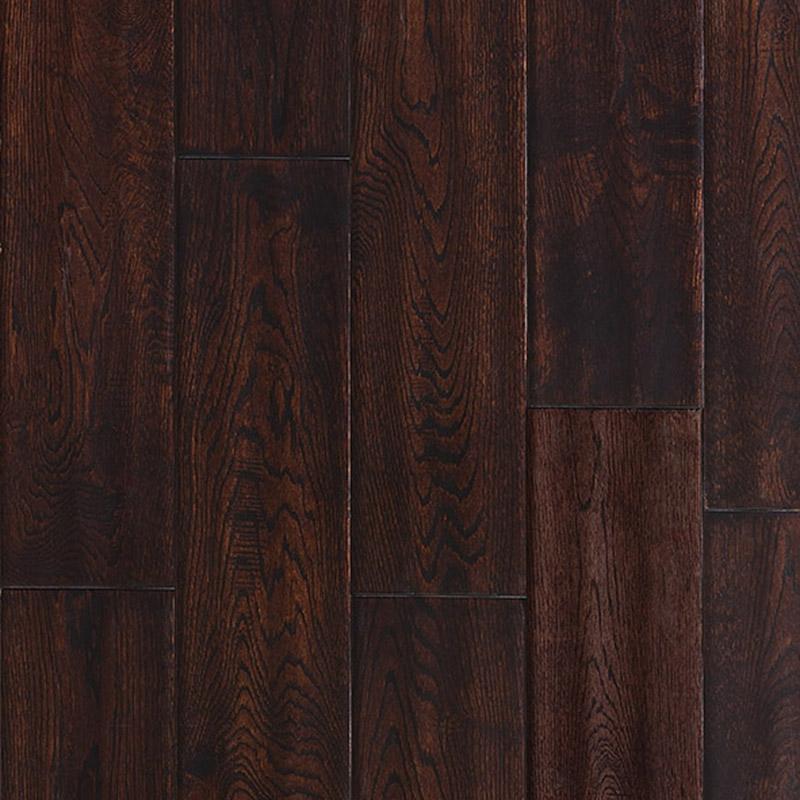 Distressed Maple Hardwood Flooring: Ark Floors Artistic Distressed Solid 4 3/4 Hardwood
