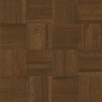 Armstrong Millwork Square Wood Back Low Gloss Oak Cocoa Bean