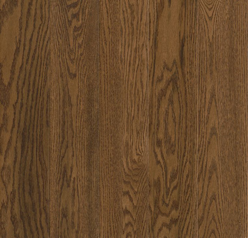Prime Harvest Solid Oak 2 1/4 Low Gloss Forest Brown