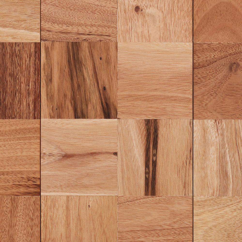 Indusparquet coterie mosaics squares hardwood flooring for Square hardwood flooring