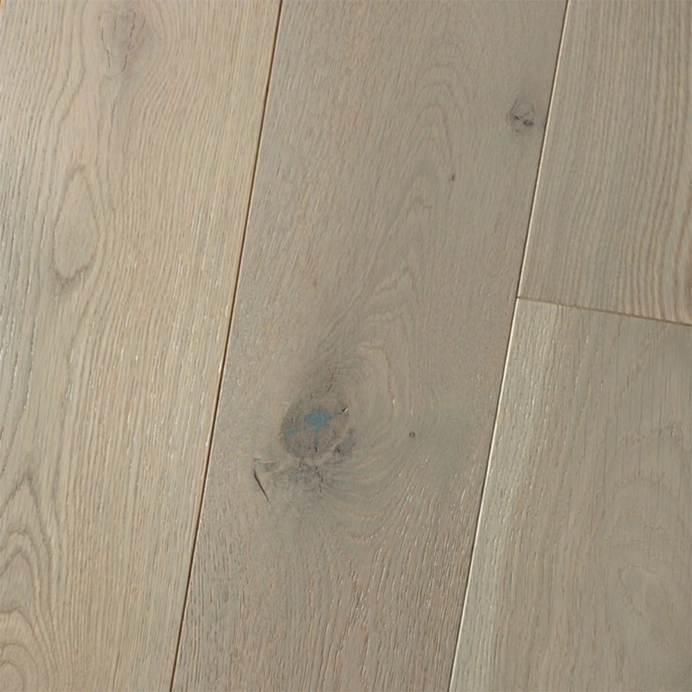 HomerWood Premium Wire Brushed 4 White Oak Chinchilla