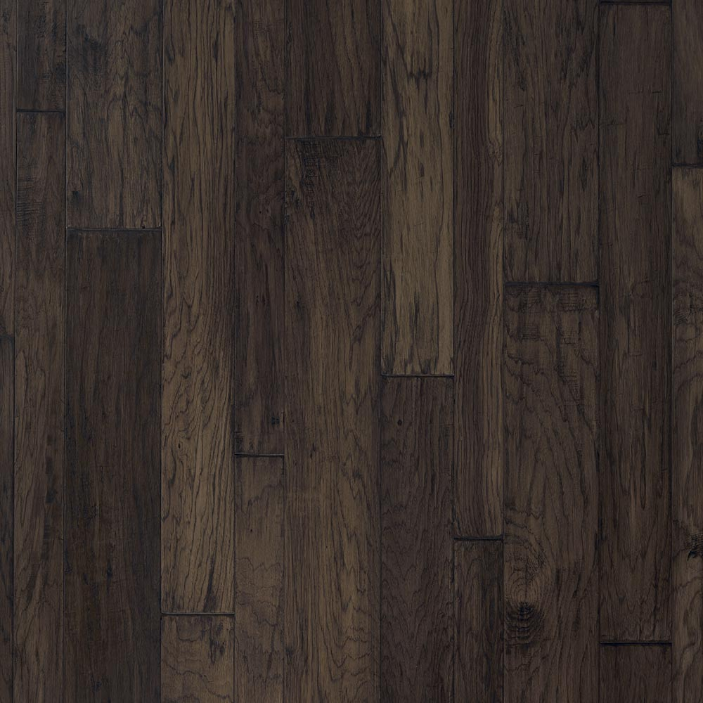 Mannington Mountain View Hickory Random Widths Smoke